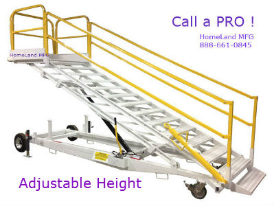 Adjustable Height Work Platforms