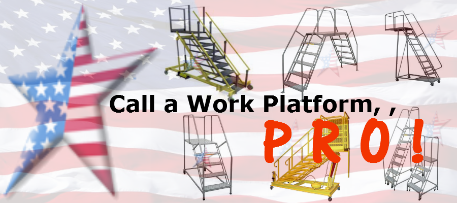 3 step work platforms