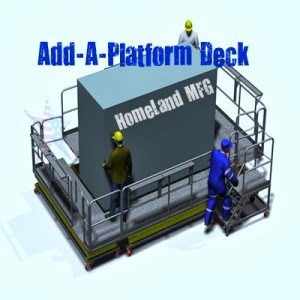 Add-A-Deck Platform, You Design with Modular Components