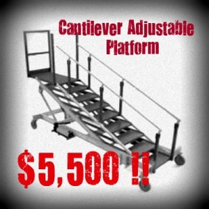 Adjustable-Maintenance-Platform
