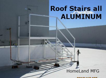 aluminum-stairway