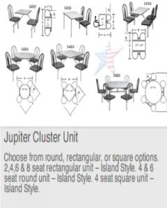 CafeteriaSeating-JupiterClusterUnit