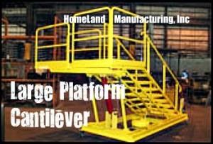 Cantilever work platform