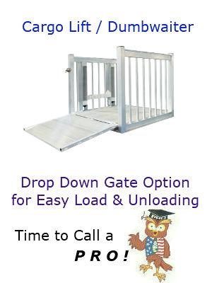 Cargo Lift Drop Down Ramp 1