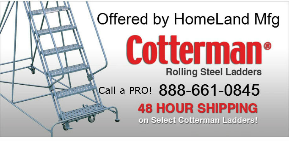 Cotterman Rolling ladders