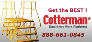 Cotterman double entry ladder