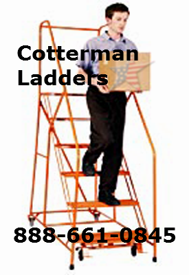 Cotterman rolling ladders s