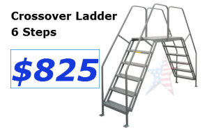 Crossover ladder-6 step