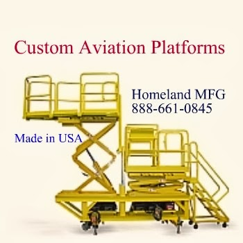 Custom Aviation Platforms Are Built to Your Drawings