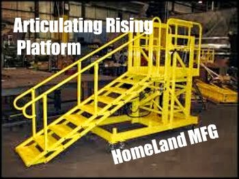 Custom Articulating Rising Platform