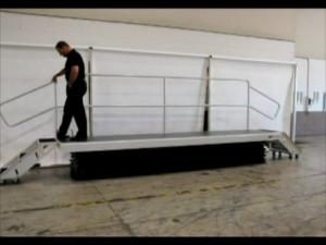 Double Entry Work Platform