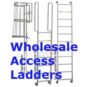 Fixed-steel-ladder