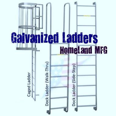 Galvanized Ladders