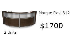 Marque Reception Desk 55312 1700 Homeland