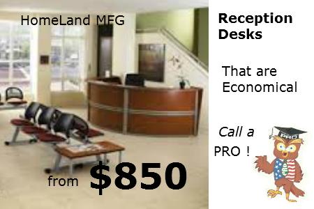 Marque Reception Desk 55290