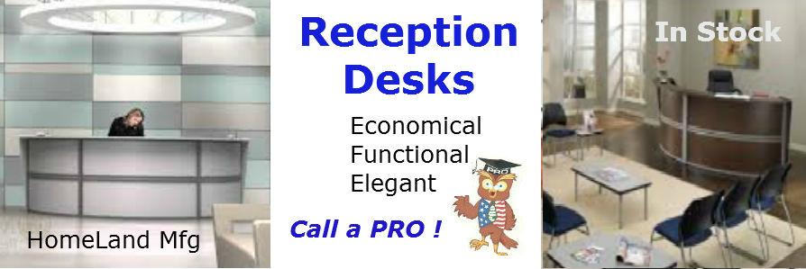 Marque Reception Desk 55296