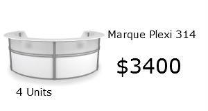 Marque reception desk 55314