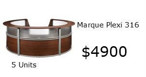 Marque reception desk 55316