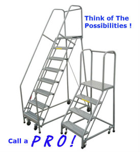 RAolling Safety Ladder