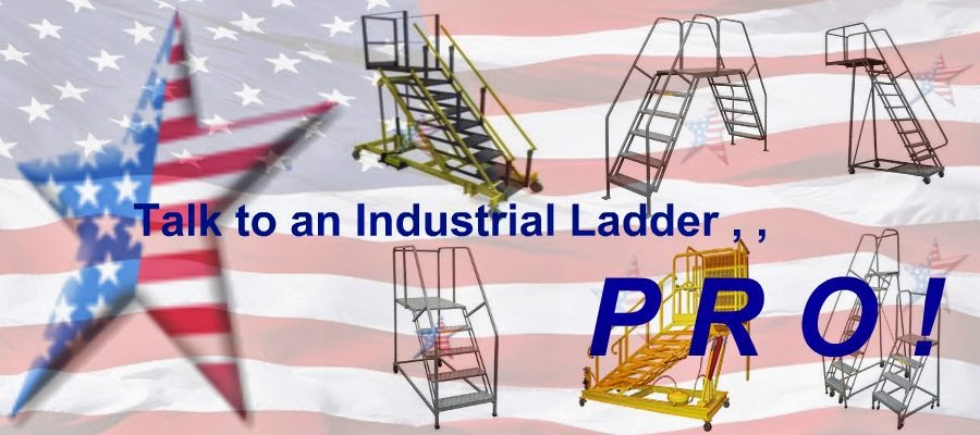Rolling Industrial-Ladder