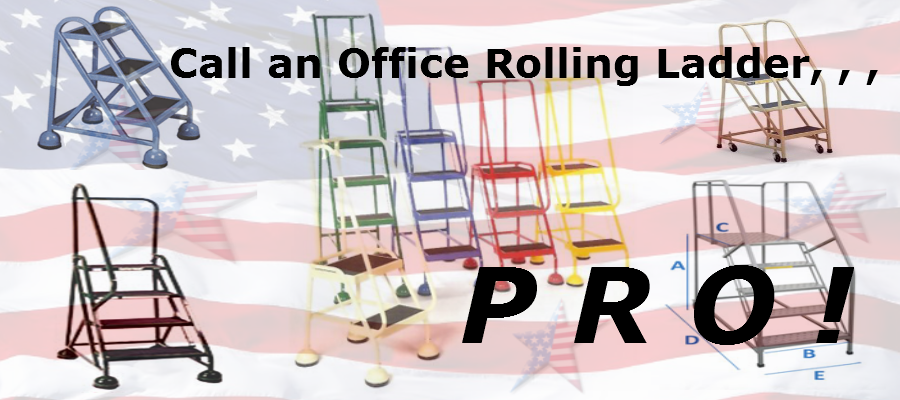 Rolling Office Ladder