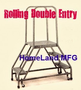 Double Entry Walk Thru Safety Ladder