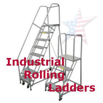 Rolling safety Ladder (2)