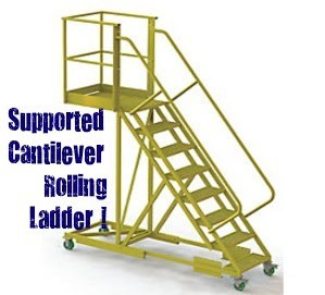Supported Cantilever Ladder