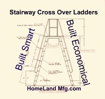 Stair Way Crossover ladders
