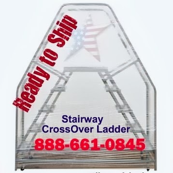 Stairway Cross Over Ladder