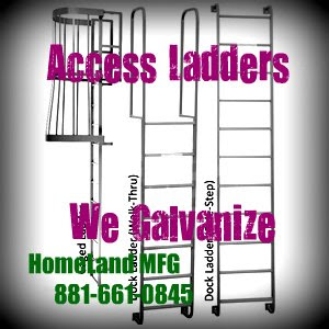 Steel-Access-ladders