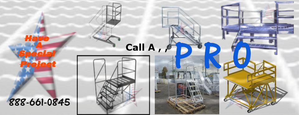 Steel-work-platform