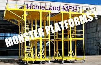 Steel-work-platforms
