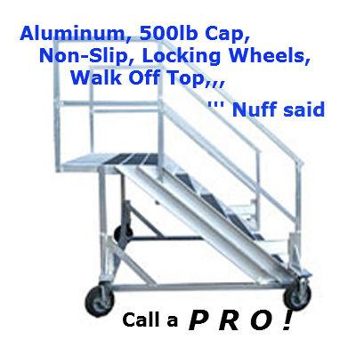 alumminum work platform