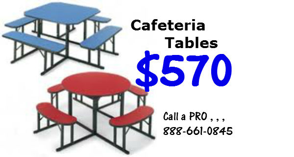 cafeteria  benches