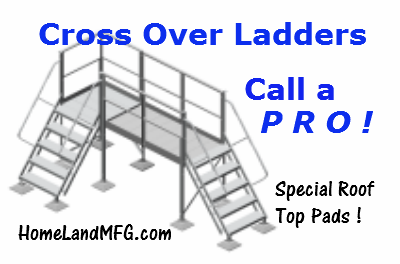 cross over ladders
