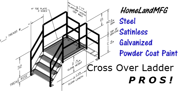 Steel Industrial Stairway Steelplatforms 888 661 0845