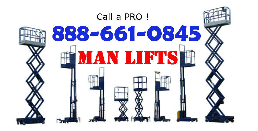 man lift