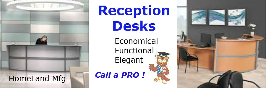 marque reception desk