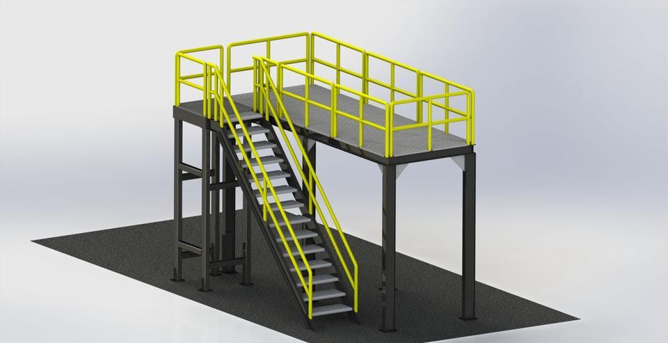 Mezzanine Stairway Wholesale