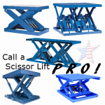 scissor lifts1 150x150 Review of Major Manufacturers, 888 661 0845