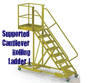 supported cantilever ladder (2)