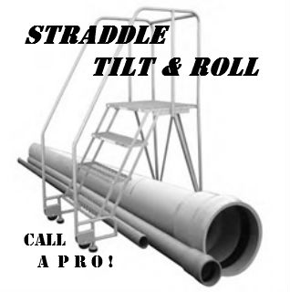 tilting & rolling ladder