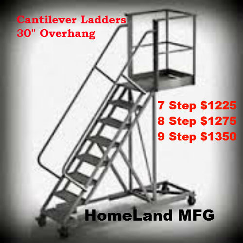 tri-Arc-cantilever ladder