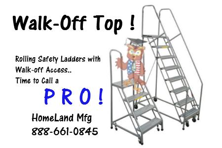 tri-arc rolling ladders