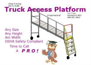 truck ladder