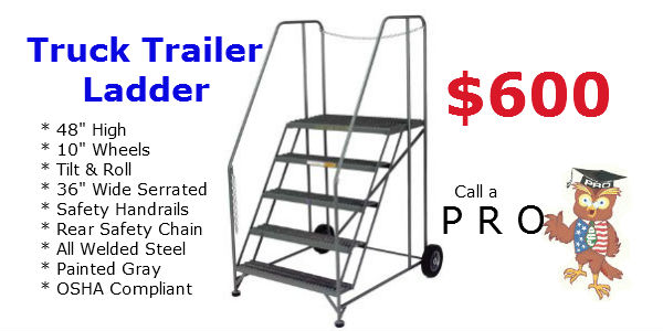 truck trailer ladder