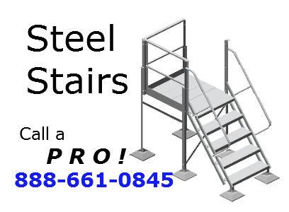 warehouse-platform-ladder