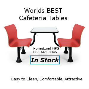 Cafteria table