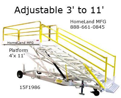 15F1986 adjustable maintenance stand